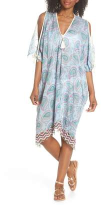 Pool' POOL TO PARTY Cold Shoulder Cover-Up Dress
