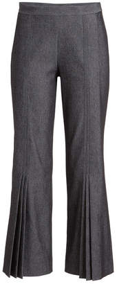 Marco De Vincenzo Pleated Pants with Cotton