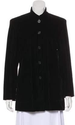 Shin Choi Velvet Short Coat