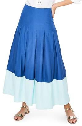 Boden Beatrice Flare Midi Skirt