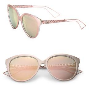 Dior Diorama 2 56MM Oval Sunglasses $500 thestylecure.com