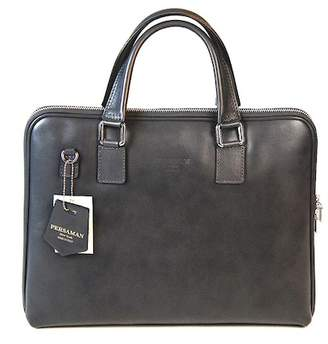 Persaman New York Avery Leather Briefcase