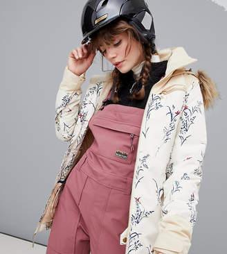 Burton Snowboards Lelah jacket in beige