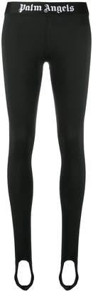 Palm Angels logo waistband leggings
