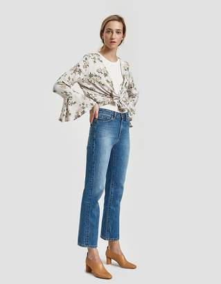 Farrow Nora Tie Blouse in Floral