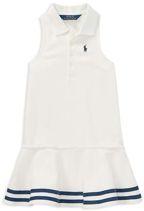 Polo Ralph Lauren Girls' Knit Polo Dress - Little Kid