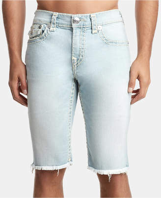 True Religion Men's Ricky Flap Denim Shorts