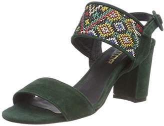 Mentor Women W7753 Heels Sandals Green Size: