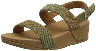 a473cefc0c7c FitFlop Women s Lottie Glitzy Back Strap Open Toe Sandals