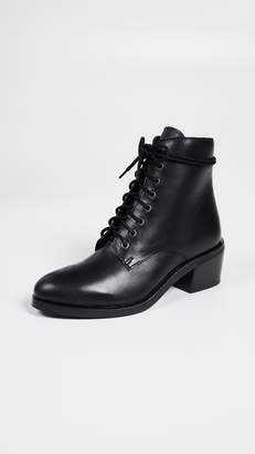 Jeffrey Campbell Gamin Lace Up Combat Boots