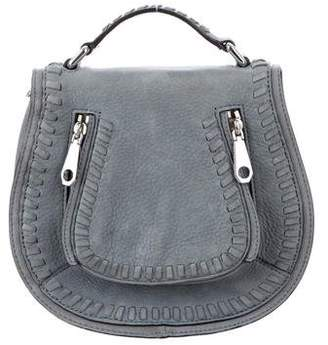 Rebecca Minkoff Suede Vanity Saddle Bag