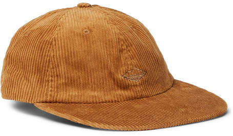 Battenwear Embroidered Cotton-Corduroy Baseball Cap