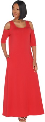 Belle By Kim Gravel Belle by Kim Gravel TripleLuxe Knit Elbow Sleeve Dress