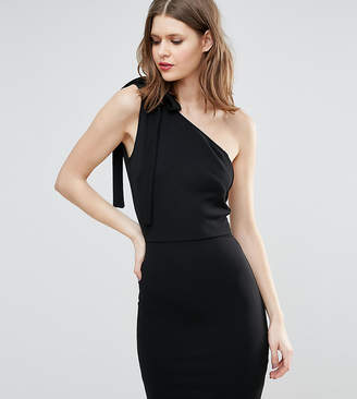 Oh My Love Tall One Shoulder Mini Dress