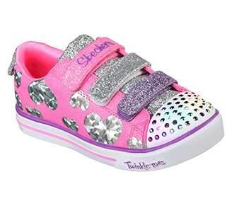Skechers Girls' Sparkle LITE-Flutter FAB Sneaker