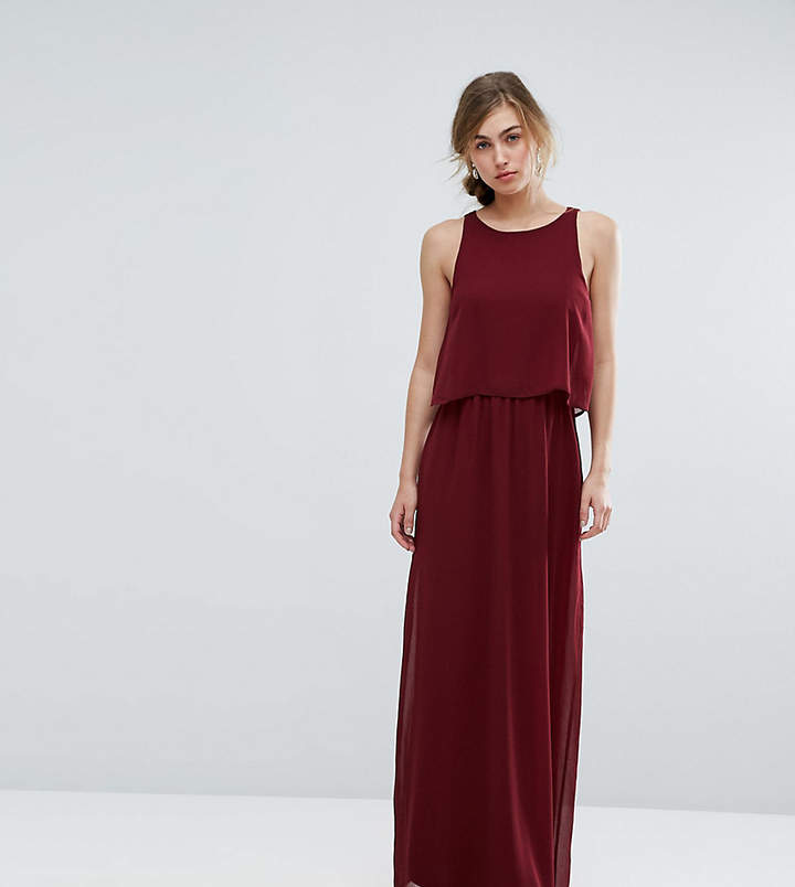 Silver Bloom 2 in 1 Maxi Dress