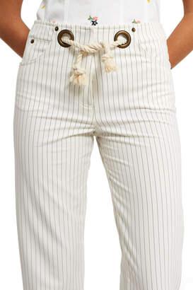 Miaou Pinstripe Tommy Pants