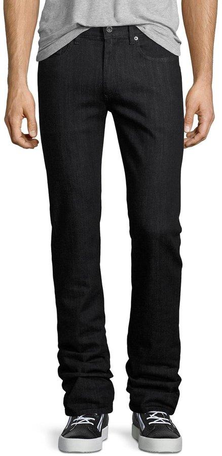 BugatchiBugatchi Five-Pocket Straight-Leg Jeans, Midnight