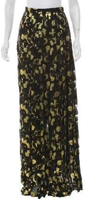 DSQUARED2 Silk Maxi Skirt w/ Tags