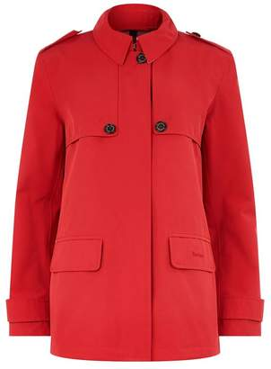 Barbour Glenrothes Spread Collared Trench Coat