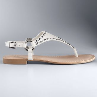 Simply Vera Vera Wang Stella Women's Sandals $39.99 thestylecure.com