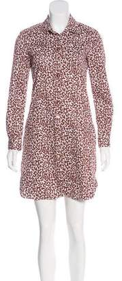 Diane von Furstenberg Laney Printed Shirtdress