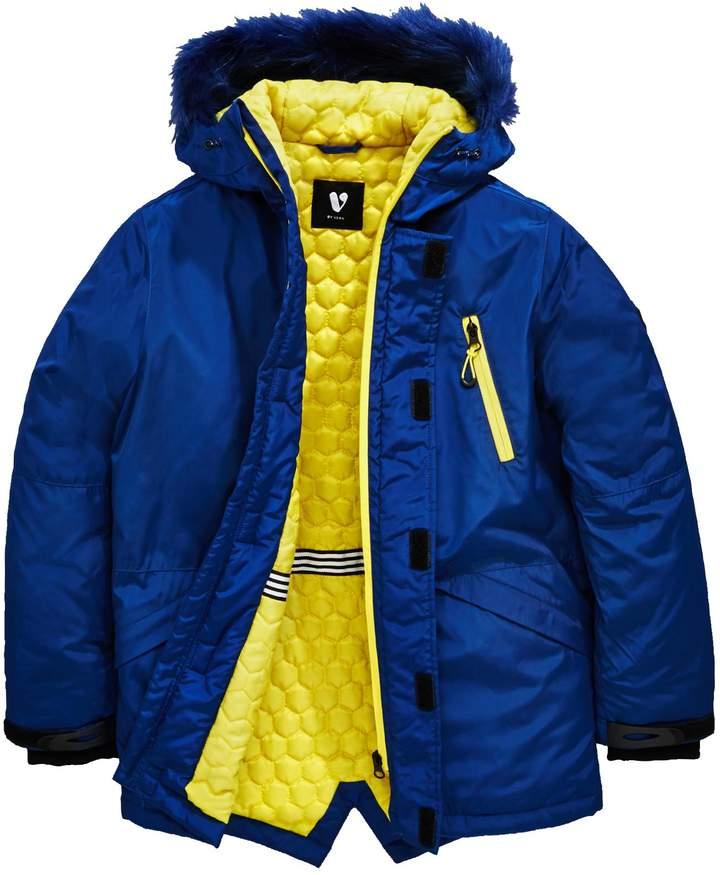 Boys Longline Padded Jacket