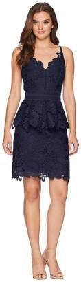 Ted Baker Nadiie Lace Detail Peplum Dress Women's Dress