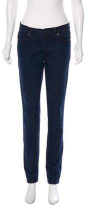 Tory Burch Mid-Rise Skinny Jeans