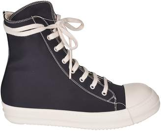Drkshdw Two Tone Stitch Hi-top Sneakers