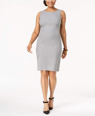 Kasper Sleeveless Sheath Dress