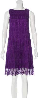 Thomas Wylde Embroidered Sleeveless Dress