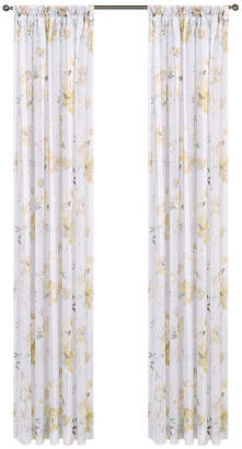 QUEEN STREET Imperial Garden Rod-Pocket Sheer Curtain Panel