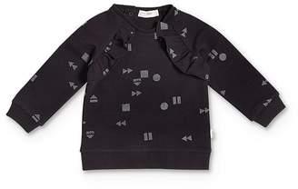 Miles Baby Girls' Geo-Print Sweatshirt - Baby