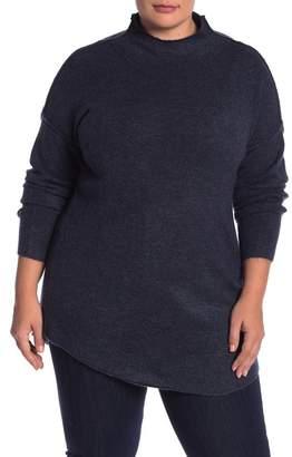 Susina Funnel Neck Tunic (Plus Size)