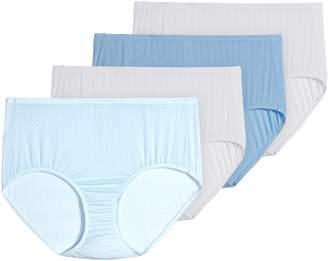 Jockey Supersoft Cool 4-Pack Brief Cut Panty Set