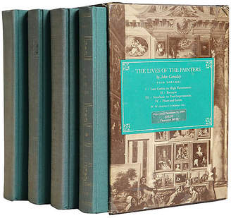 One Kings Lane Vintage The Lives of the Painters - Set of 4