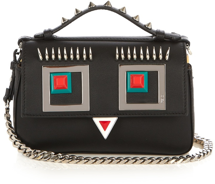 FENDI Double Micro Baguette Hypnoteyes cross-body bag