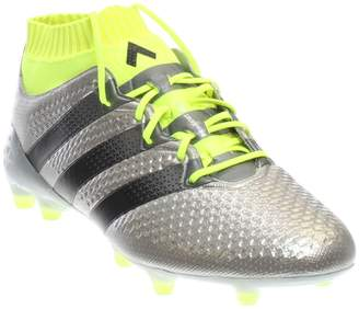 adidas Ace 161 Primeknit Firm Ground Mens Football Boots - Silver