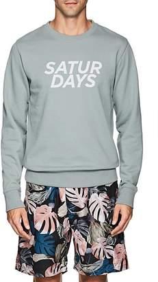 Saturdays NYC Men's Bowery Gotham Cotton Terry Sweatshirt