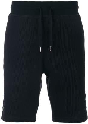 Moncler ribbed drawstring shorts
