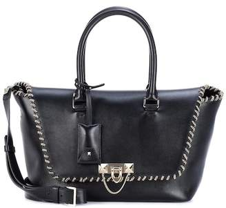 Valentino embellished leather tote