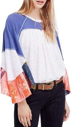 Free People Friday Fever Patchwork Top