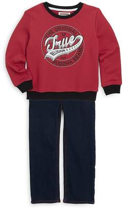 True Religion Little Boy's True Cotton Pullover & Pants