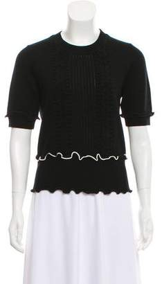 3.1 Phillip Lim Wool Cable Knit Crew Neck Sweater w/ Tags