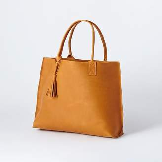 west elm Bubo Handmade - Everyday Leather Tote Bag