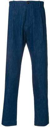 Nine In The Morning denim style classic trousers