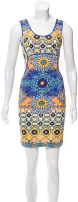 Philosophy di Alberta Ferretti Sleeveless Printed Dress