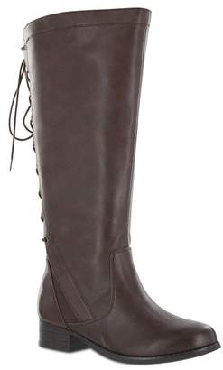 12c2046bafd MIA AMORE Lilianaa Back Lace-Up Tall Boot - Wide Width