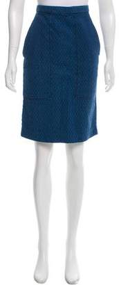 Etoile Isabel Marant Quilted Chambray Skirt